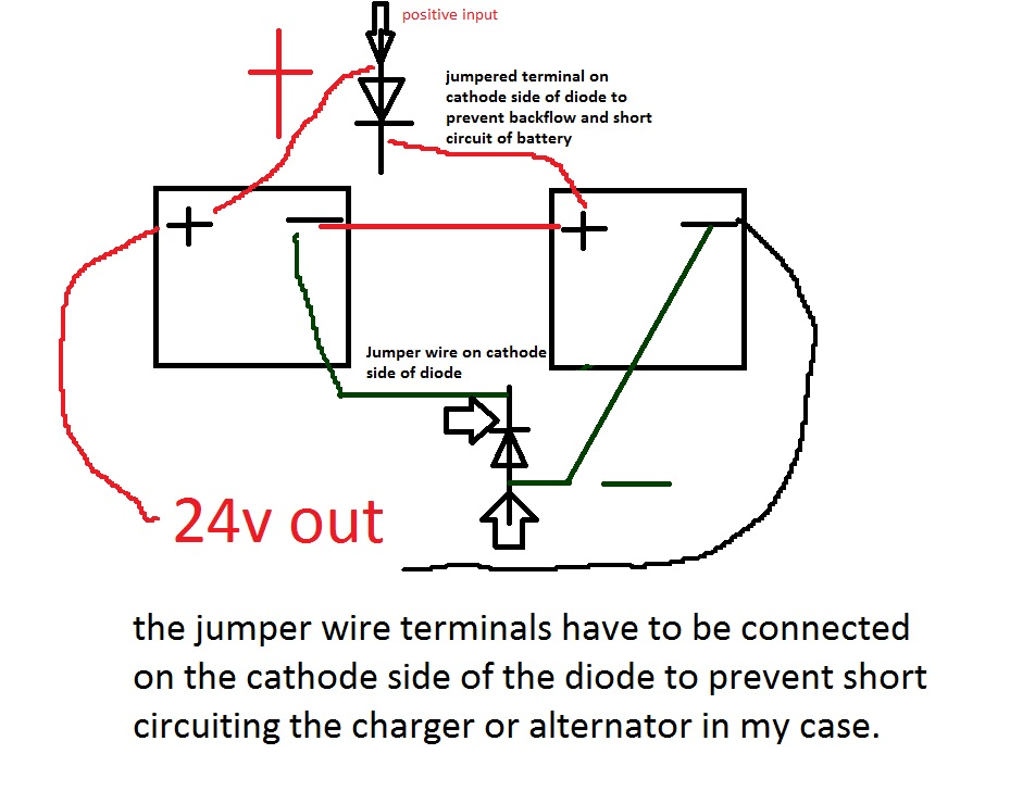 How To Charge A 12Volt Battery From A 24Volt System