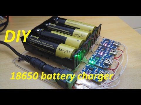 How To Charge Multiple 18650 Batteries