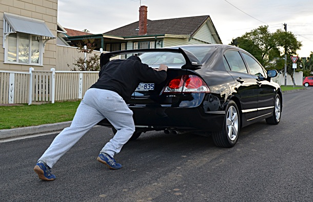 How To Push An Automatic Car With Dead Battery